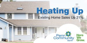 Heating Up: Existing Home Sales Up 21%